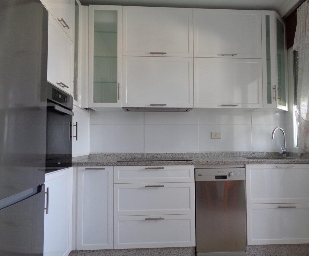 Muebles de aluminio para cocina