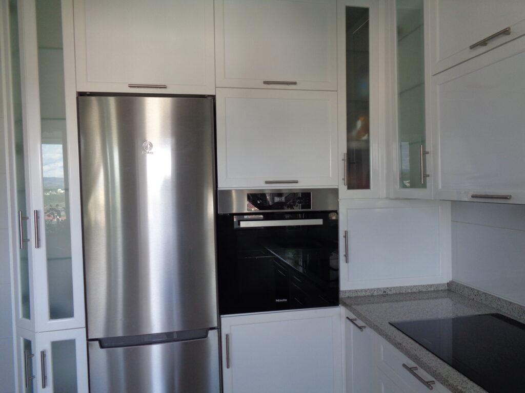 módulos cocina aluminio